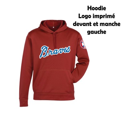 BB Hoodies Biz 40 ans rouge