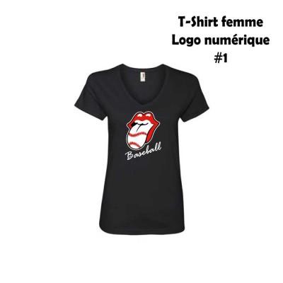 Baseball T-shirt femme choix #1