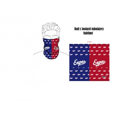 Expos foulard tubulaire ( Buff )
