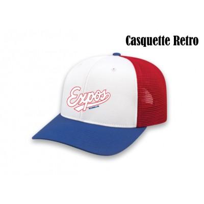 Expos casquette retro